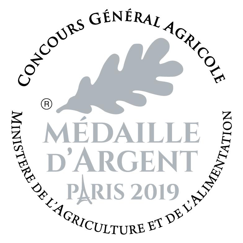 Concours Général de Paris- Médaille Argent pour notre Côtes du Rhône Villages Sablet rouge millésime 2017