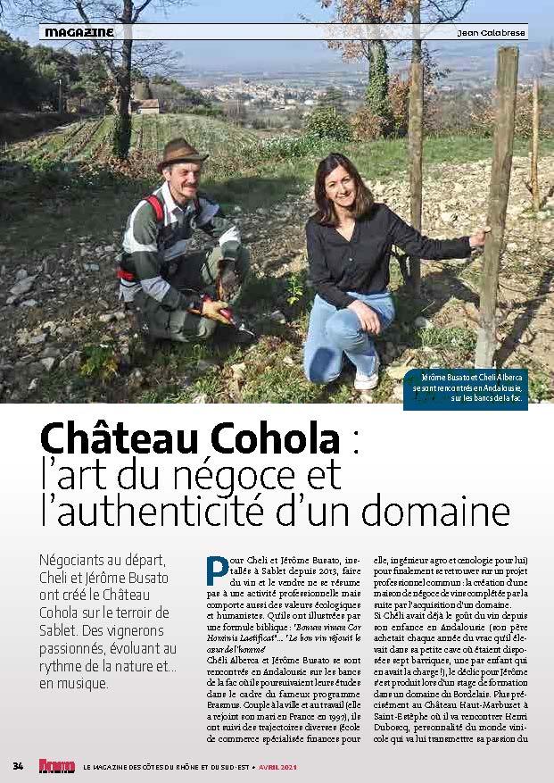 Château Cohola : l'art du négoce et l'authenticité d'un domaine