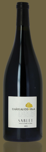 Côtes du Rhône villages Sablet Organic Magnum 2019